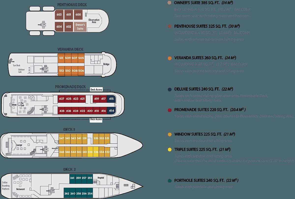 Island Sky Deck Plan