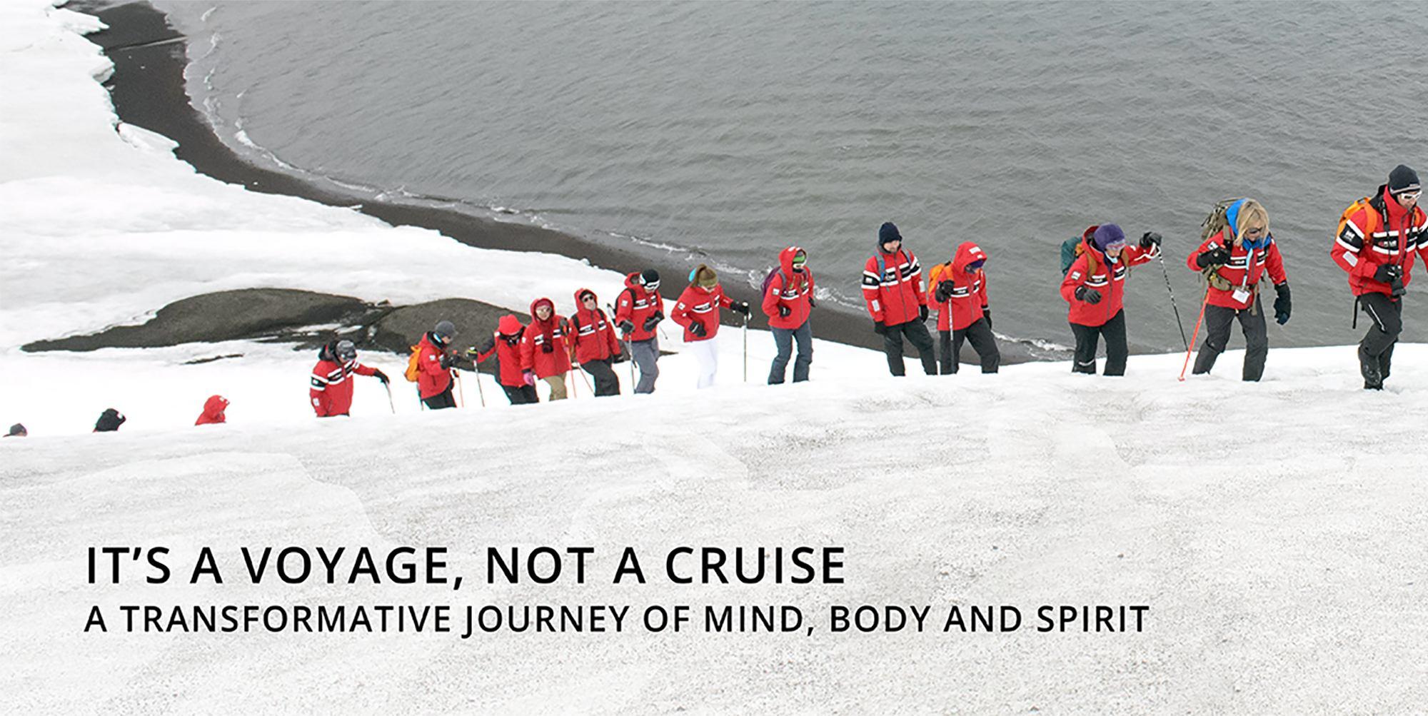 Polar Latitudes Antarctic Hiking