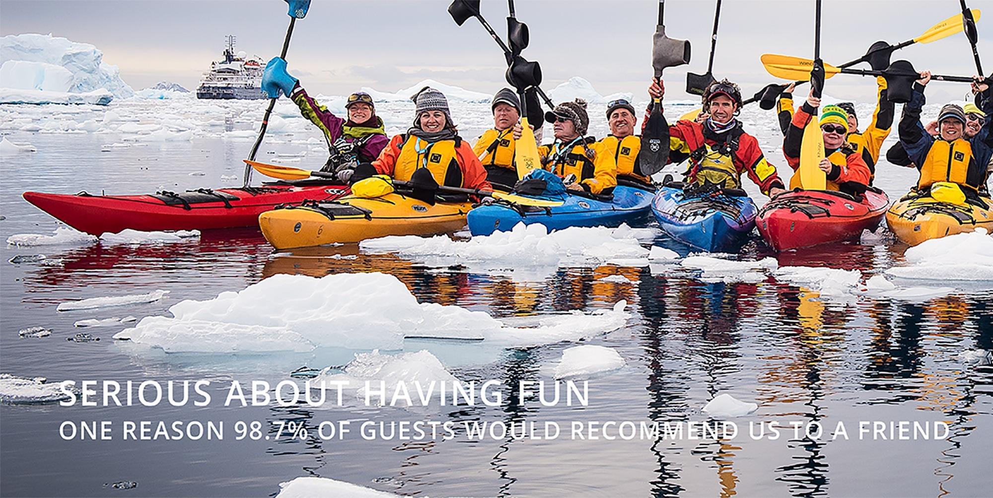 Polar Latitudes Antarctic Kayaking