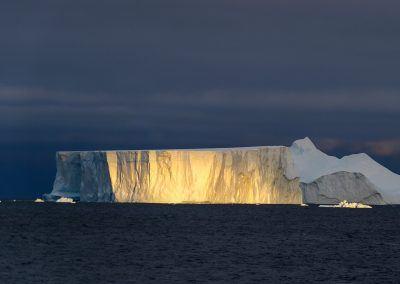 Giant Tabular Iceberg in Antarctica