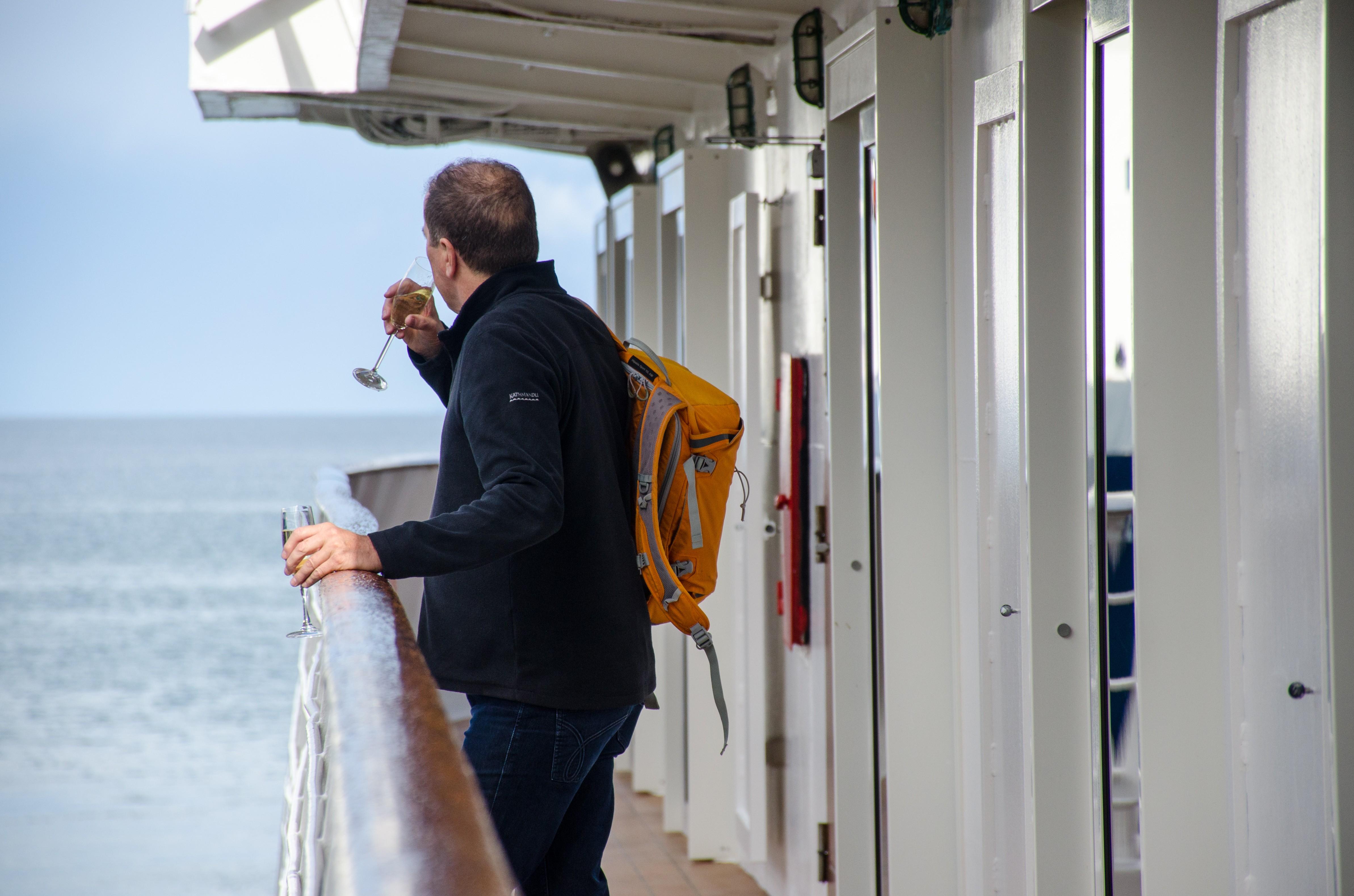 Taking in the Drake Passage